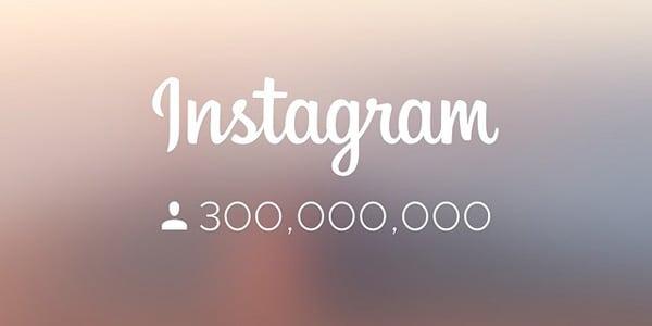 اینستاگرام حالا ۳۰۰ میلیون کاربر فعال ماهانه دارد؛ جایی بالاتر از توئیتر!